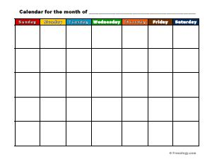 printable calendar generator printable calendar maker freeology