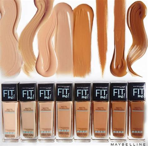 Foundation Maybelline Fit Matte new maybelline fit me matte poreless shades now