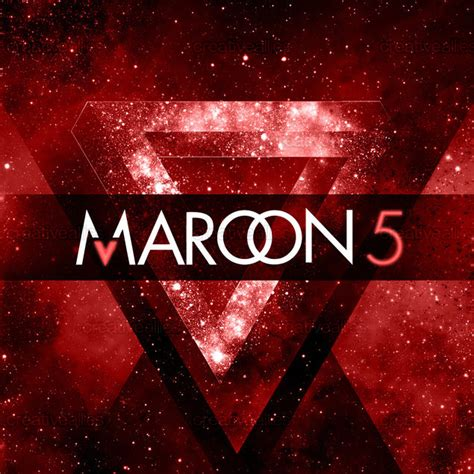 maroon v album maroon 5 album cover by luxury design studio