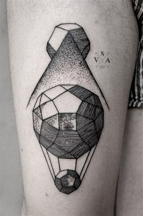 hot house tattoo 25 awesome geometric tattoo art images gallery