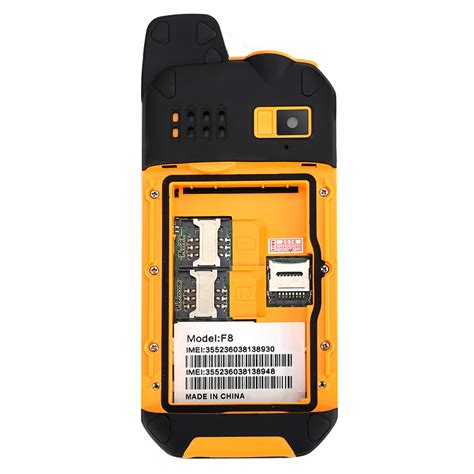Rugged Outdoor Rugged Outdoor Phone 3000mah Power Bank Mode Dual Imei Ip67 Walkie Talkie Ebay