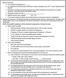 environmental health and safety plan template fm 3 11 22 appendix p incident and site safety and