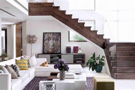 glasgeländer innen treppe wand design