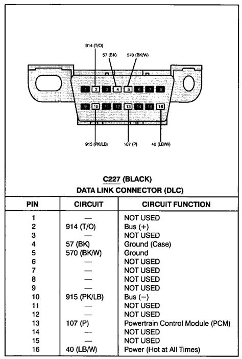 location obd ii on 1996 ford f350 7 5 l