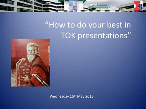 Tok Prezis 2013 Tok Presentation Ppt