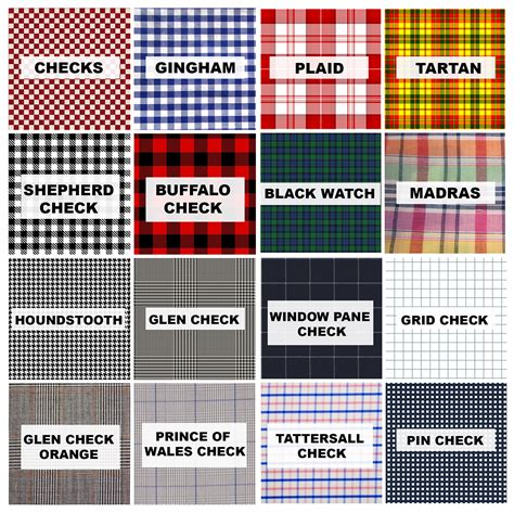 gingham vs plaid vs tartan a fashion lesson in checks gingham plaid tartan and