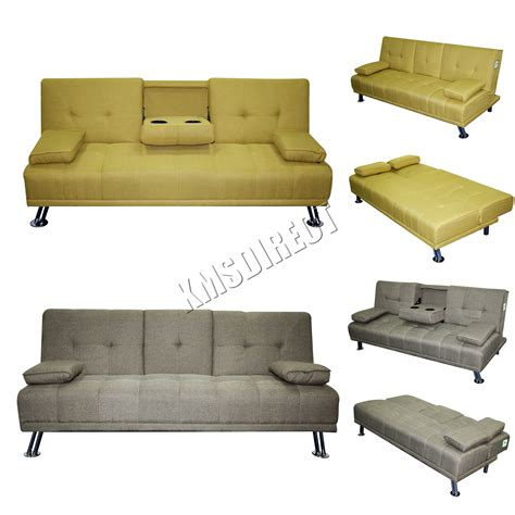 Recliner Sofa Bed Foxhunter Fabric Manhattan Sofa Bed Recliner 3 Seater Modern Luxury Design Home Ebay