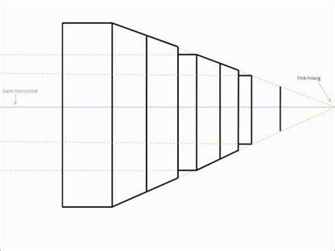 tutorial menggambar interior full download cara menggambar perspektif 1 titik hilang