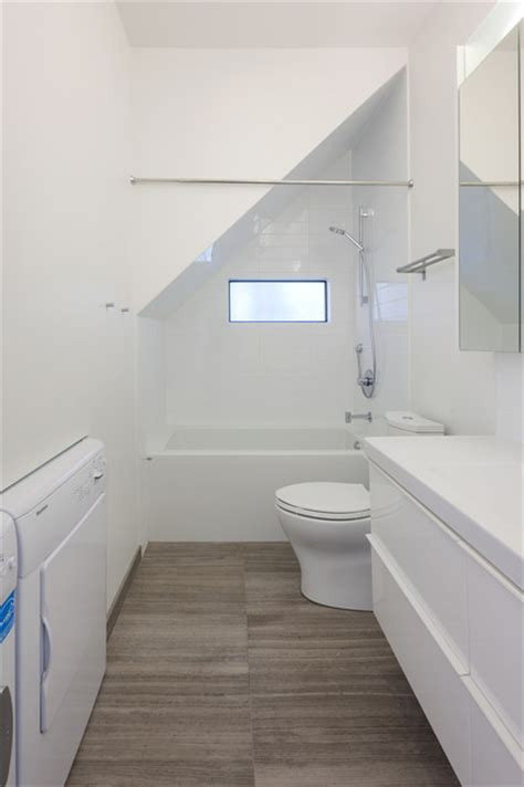 efficient use of your attic 18 sleek attic bathroom