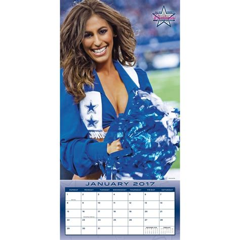 dallas cowboys desk calendar 2017 2017 dallas cowboys cheerleaders swimsuit 2017 2018