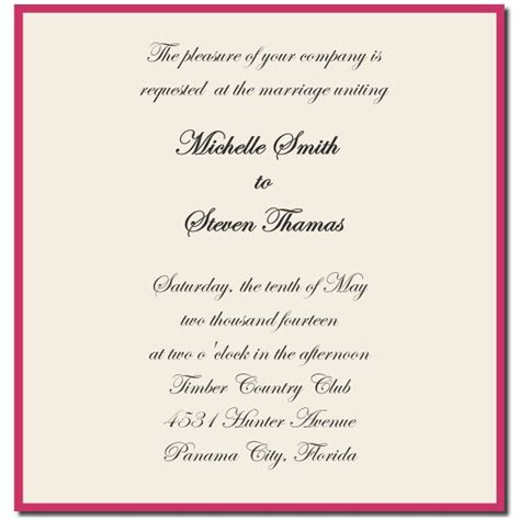 Wedding Invitations Etiquette by Wedding Invitation Etiquette And Wedding Invitation