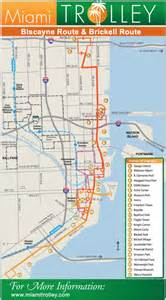 Miami Trolley Map by Miami Trolley Extends Route To Midtown And Design District