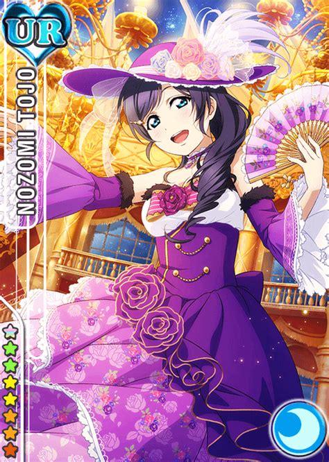 Live School Idol Festival Card Template Ur by School Idol Tomodachi Cards Album 733 Toujou Nozomi Ur