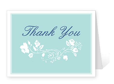 templates for thank you cards weddings recession brings many benefits for brides to be for