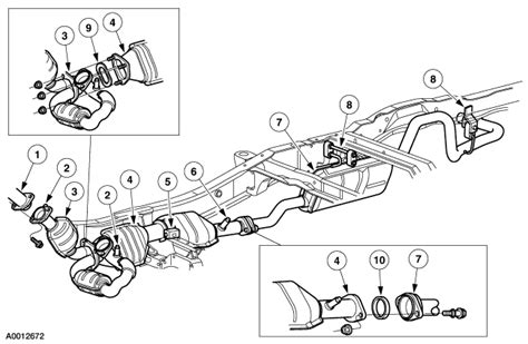 1998 Ford Ranger Exhaust System Diagram 1998 Ford Ranger Exhaust System Diagram