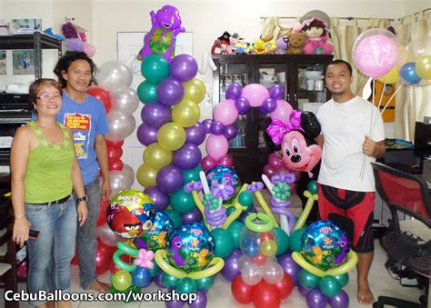 Balon Metalik I You Cinta balloon business start up package with workshop
