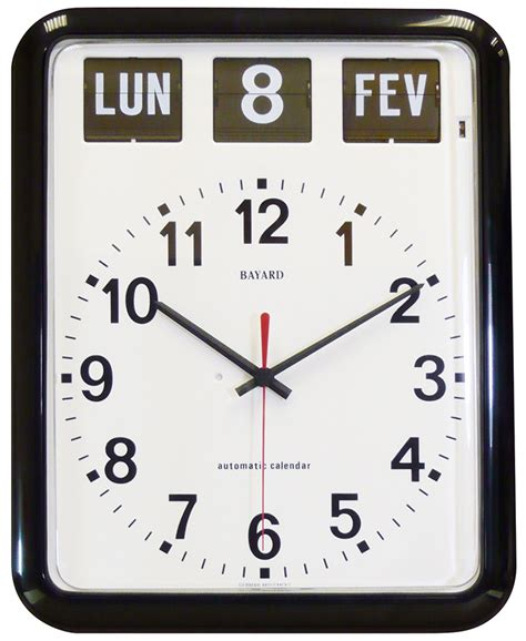 Calendrier Digital Mural Horloge Murale Calendrier