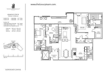 ritz carlton floor plans new condos at ritz carlton residences isles the luxury team