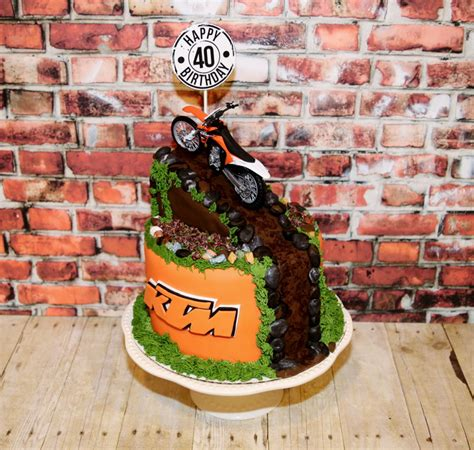 Bake Birthday Cake by Ktm Dirt Bake Birthday Cake Cakecentral