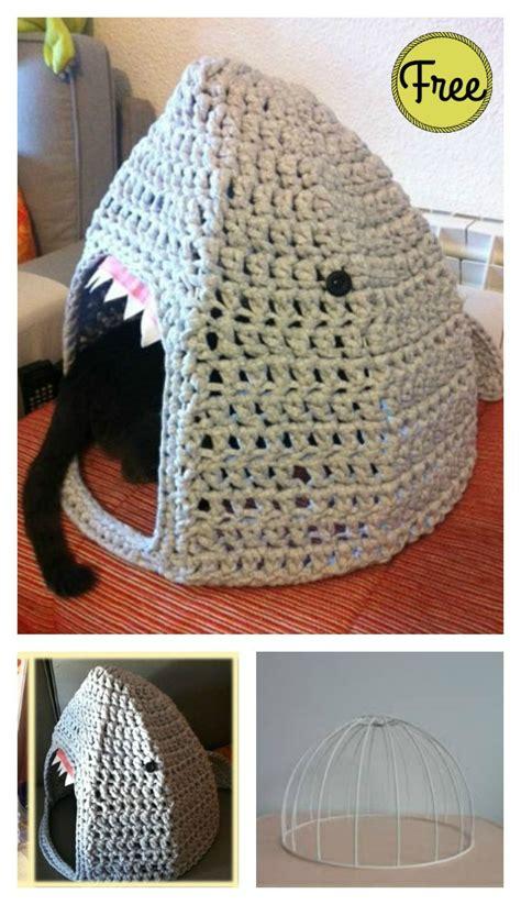 pattern for cat house shark cat house free crochet pattern