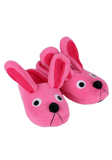 bunnie slippers story pink bunny slippers