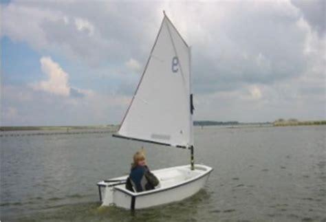 open zeilboot beginners zeilles op het amstelmeer