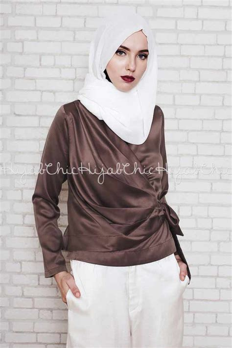 Amiya Top New Hijabers Style kumpulan trend terbaru hijabers us