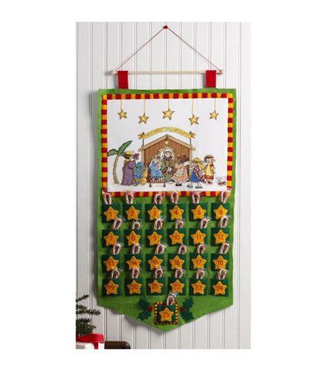 trees felt applique and the o jays on bucilla engelbreit advent calendar felt applique kit