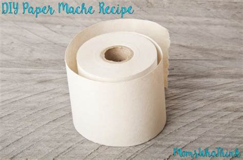 Ingredients To Make Paper Mache - how to make paper mache who think