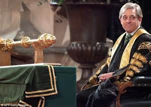 what is the speaker of the house job john bercow accused of behaving like arrogant toff after clipping motorist s car