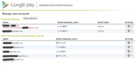 play devloper console android developers the android developer
