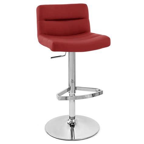 red lattice adjustable height swivel armless bar stool zuri furniture