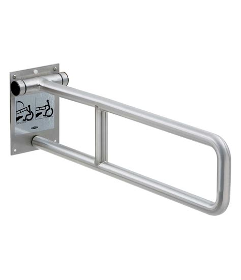 swing up grab bars b 4998 99 1 1 4 quot diameter swing up grab bar peened