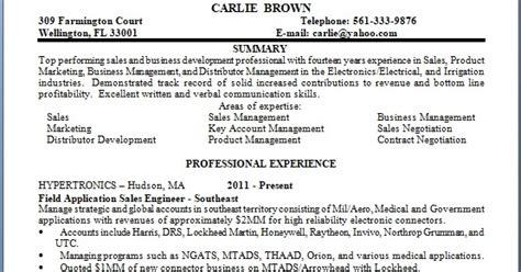 field application sales engineer sle resume format in