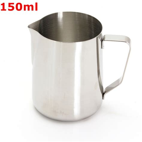 Milk Jug Stainless Steel 1000 Ml Murah 150 1000ml stainless steel lathe coffee milk pitcher