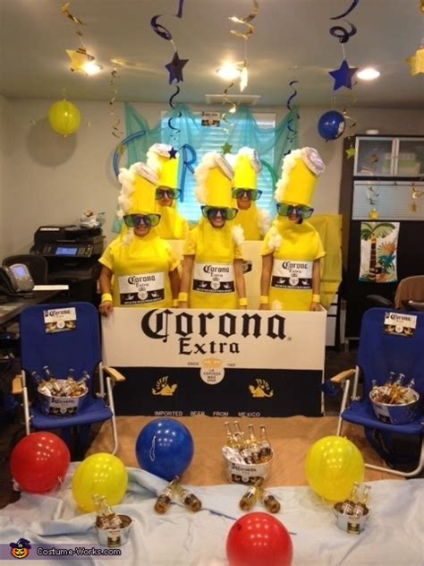 corona  pack group halloween costume
