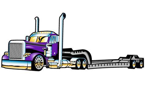 semi truck clip flatbed semi truck clipart