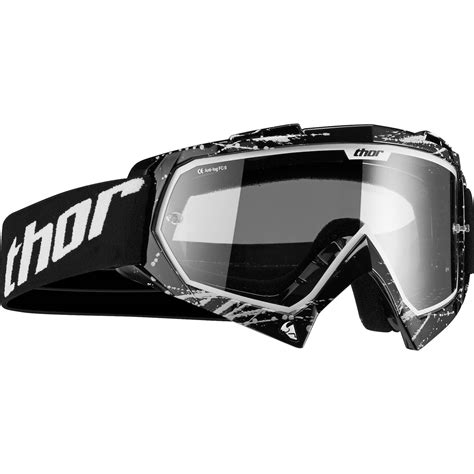 motocross goggles clearance thor enemy splatter youth black motocross goggles