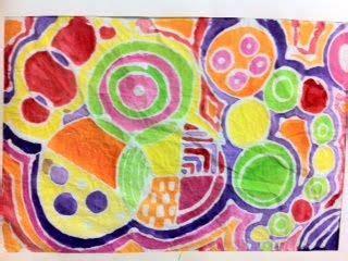 Batik Sonya gel glue quot batik quot circles reference delaney
