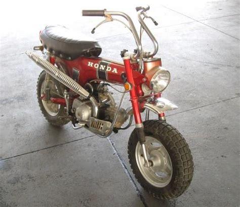 Honda Mini Motorcycle by 1971 Honda Ct70 Mini Trail Motorcycle