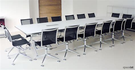White Meeting Table Meeting Tables Frame Boardroom Table