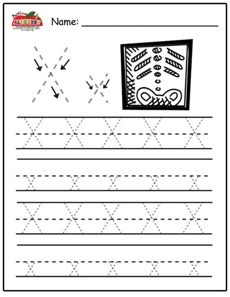 free printable letter x tracing worksheets free letter x worksheets for kindergarten preschool