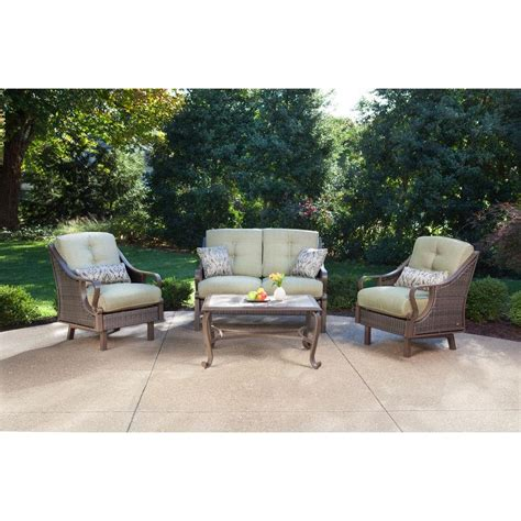 hanover ventura  piece patio conversation set