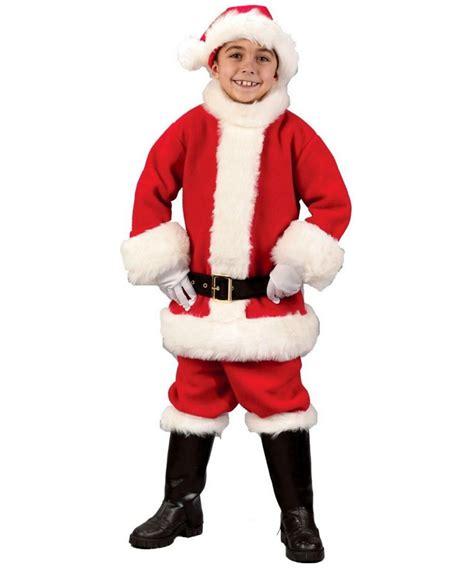 kids santa suit christmas costume santa costumes