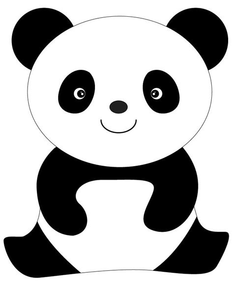 Cute Animal Panda Coloring Pages Kids Coloring Pages Panda Coloring Pages