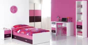 Girls Pink And Purple Bedroom - bedroom ideas teenage bedroom decor with pink and purple home interior and decoration
