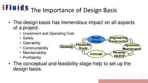 design base meaning design basis process design fundamentals