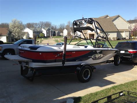 direct drive boat correct craft air nautique direct drive wakeboard 2000 for