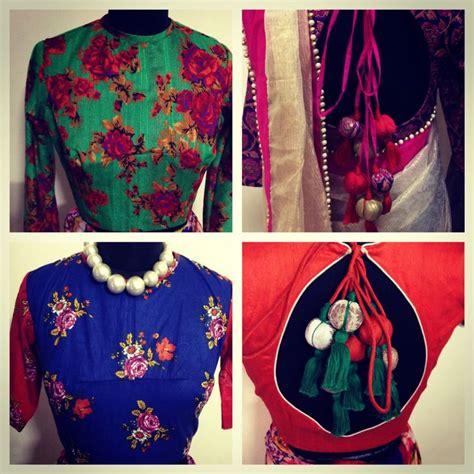 Id 0136 V Neck Ethnic Blouse 76 best images about blouses on blouse designs