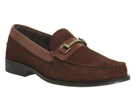 mens brown suede loafers mens ask the missus dear snaffle loafers brown suede